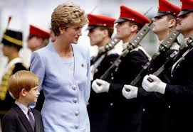 princess diana u0027s son prince harry reveals he had a tough time