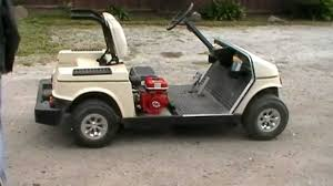 electric to gas golf cart conversion pt 6 with a test drive