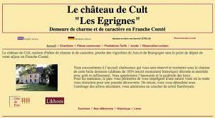 La Suite Dans Le Vignoble Du Jura Proche Chambres D Hôtes Le Château De Cult Les égrignes à Cult Fabienne Et