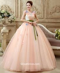 quinceanera dresses with straps tulle wide straps sleeveless beaded floral accented