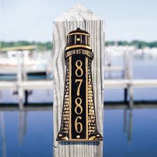 Nautical Themed Mailboxes - nautical wall plaques nautical address plaques advantage