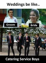 Boys Meme - dopl3r com memes weddings be like groom bride catering