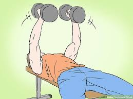 How To Do Dumbbell Bench Press How To Bench Press 13 Steps With Pictures Wikihow