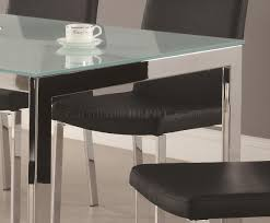frosted glass table top replacement ikea frosted glass dining table dark brown leather chairs images on