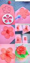 Easy Icing Flowers - best 25 fondant flowers ideas on pinterest fondant rose
