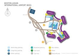Map Of Boston Logan Airport by Boston Boston Logan International Airport Bos United States Of
