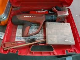 hilti gun model dx 462 hm with letter and number punch set
