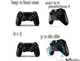 Playstation 4 Meme - playstation 4 vs xbox 1 by xpake meme center
