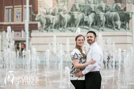 fort worth photographers sundance square plaza engagement portraits fort worth the