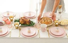 ikea pink plates pink tabletop making it lovely