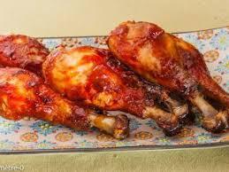 comment cuisiner des pilons de poulet pilons de poulet sauce barbecue recette ptitchef