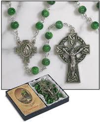 celtic crucifix celtic cross rosary divinerosarybeads
