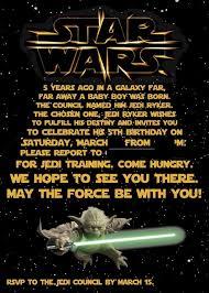 free samples printable star wars birthday invitations invitation