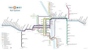 portland light rail map portland rail map maps pinterest usa cities and city