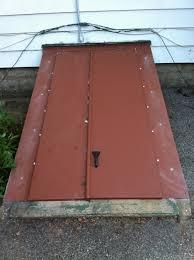 custom size basement door u2013 the iron designers