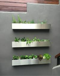 planters pallet wall planter box home depot metal hanging