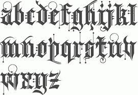 alphabet font gangster cool gangster letters the letter sample