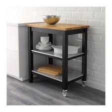stenstorp kitchen trolley white oak 79x51x90 cm kitchen carts