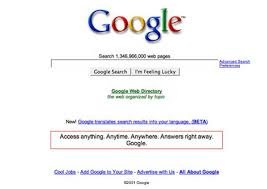 new google homepage design google s famously sparse homepage is considered a classic design in