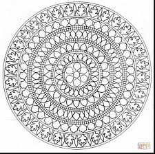 unbelievable medium mandala coloring pages with mandala coloring