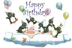 Penguin Birthday Meme - penguins with happy birthday google search manga inspiration