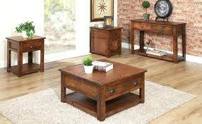 Narrow End Tables Living Room Rustic End Tables For Living Room Hoot Furniture Bay Area Arti For