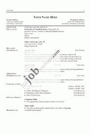 fascinating good sample resumes for jobs in 100 resume examples