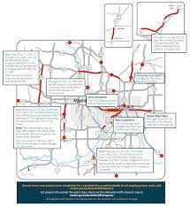 Mn Dot Traffic Map Highway 100 Closures Return To Top Twin Cities Weekend Road Woes