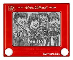 beatles photos etch a sketch art ny daily news