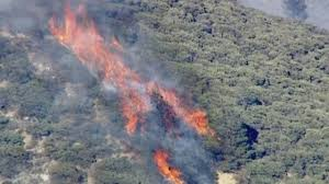 Wildfire Wedding Photos by California Wildfires Aerial Footage Of Wildfires Raging In