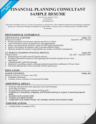 Financial Consultant Resume Sample by 22 Best Resume Images On Pinterest Resume Tips Resume Examples