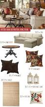 Pottery Barn Living Rooms by Pottery Barn Knockoff Fall Living Room On A Budget Money