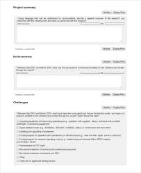 it support report template 7 project summary templates free word pdf document