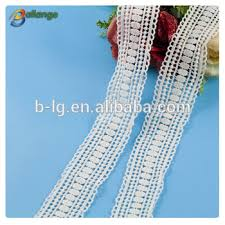 Lace Fabric For Curtains White Color Lace Fabric For Cloth Custom Design Adhesive Paper