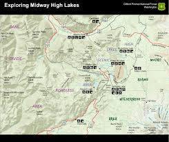 Mt Washington Map by File Mount Adams Midway High Lakes Area Visitor Map Png
