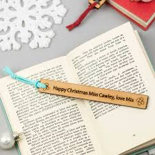 christmas teacher gift bookmark by we are scamp