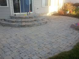 Patio Brick Calculator Brick Paver Patio Cost Calculator Home Design Ideas
