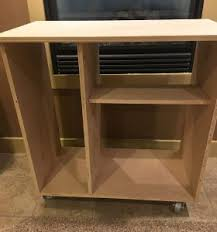 diy mini refrigerator storage cabinet free plans sawdust sisters