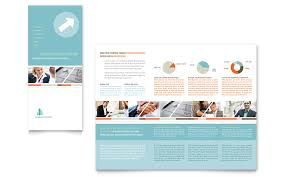 management consulting tri fold brochure template word u0026 publisher