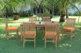 Wooden Patio Dining Set Outdoor Dining Sets Stylish Teak Patio Dining Sets Teakwood