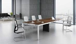 Office Conference Table Modern Glass Office Furniture And Design Corporate High End