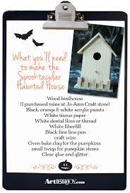spooktacular haunted house diy art design joy
