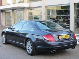 used mercedes coupe used 2007 mercedes coupe grey edition 500 2dr auto 5 5 petrol