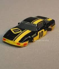 black and yellow corvette afx ho corvette slot car black yellow stripes 10 chevrolet