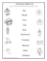 printable halloween sheets halloween match up activity halloween activities crafts games