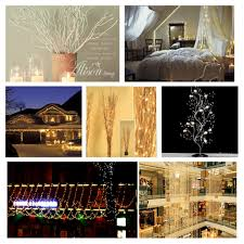 280 led branch string lights starry fairy diy lighting for wedding