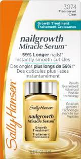 nailgrowth miracle serum sally hansen