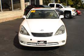lexus sedan used 2005 lexus es330 white used sedan car sale