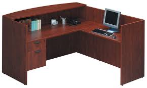 Maple Reception Desk by Classic Gallery Reception Desk Source Office Furniture