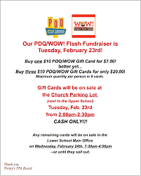 gift card fundraiser ppa flash fundraiser wow pdq gift card sale the tornado beacon